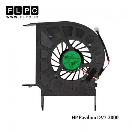 تصویر فن لپ تاپ اچ پی HP Pavilion DV7-2000 Laptop CPU Fan _intel دو خروجی هوا