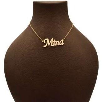 گردنبند طلا 18 عیار زنانه مینا کد UN0016 |