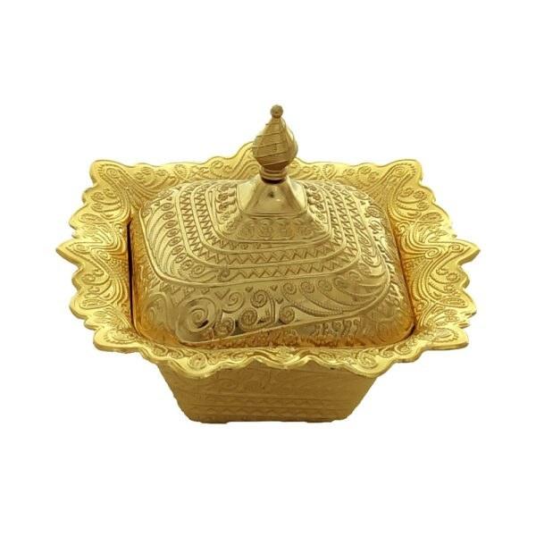 تصویر قندان کوچک مربع نقره ای زارا کد ۱۰۹۶