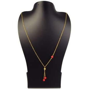 گردنبند طلا 18 عیار زنانه مانچو مدل sfg631 |