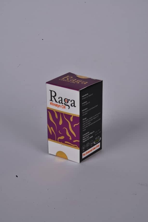 تصویر روغن خراطین راگا با مجوز رسمی تولید و پخش
