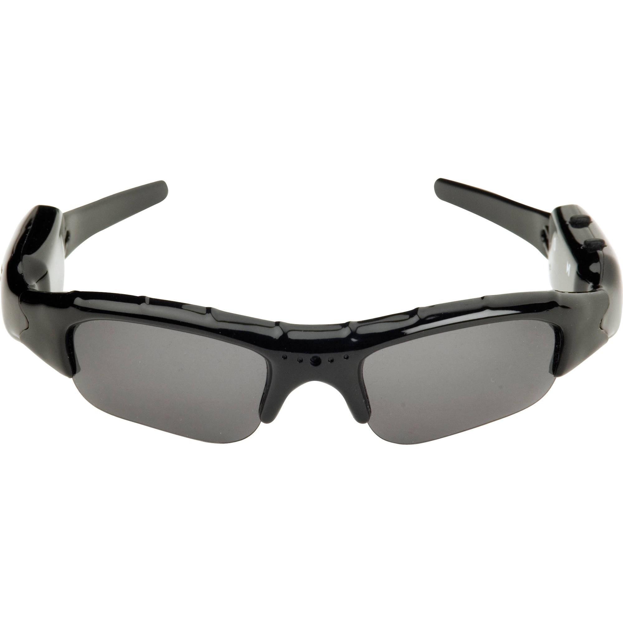 تصویر عینک ورزشی آفتابی دوربین دار