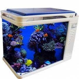 تصویر آکواریوم کمری مدل Q3-400 حجم 35 لیتر Camry Q3-400 Aquarium 35L