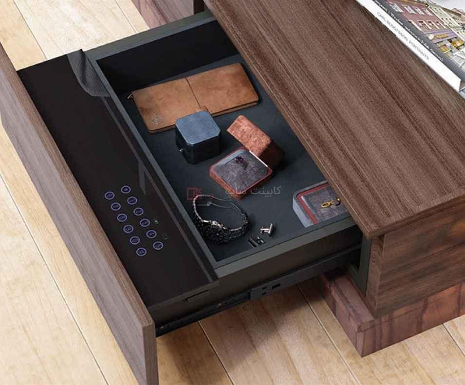 تصویر گاوصندوق کشویی داخل کمد و میز عرض 48 فانتونی مدل J417 Fantoni J417 safe deposit
