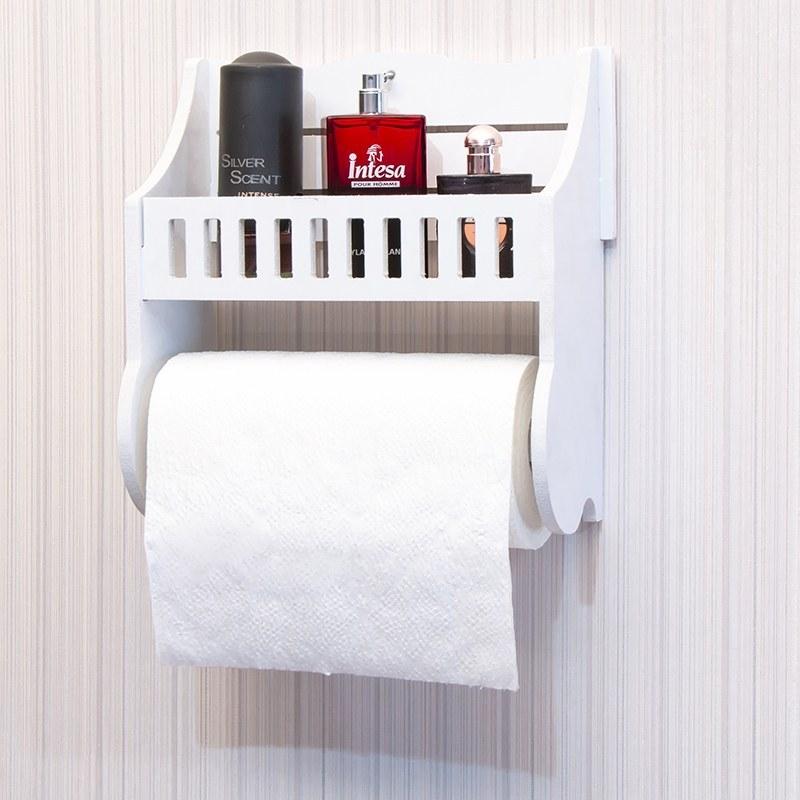 تصویر شلف جا دستمال توالت رول بزرگ