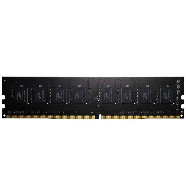 رم کامپیوتر گیل تک کاناله ۴ گیگابایت فرکانس ۲۴۰۰ مگاهرتز   GEIL Pristine DDR4 4GB 2400 CL17 Desktop RAM