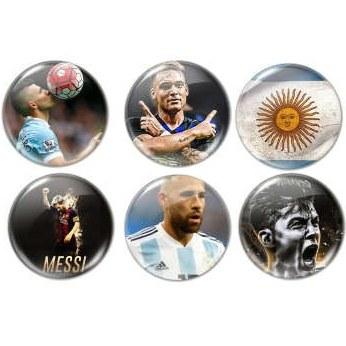 پیکسل طرح تیم آرژانتین کد 24063 مجموعه 6 عددی