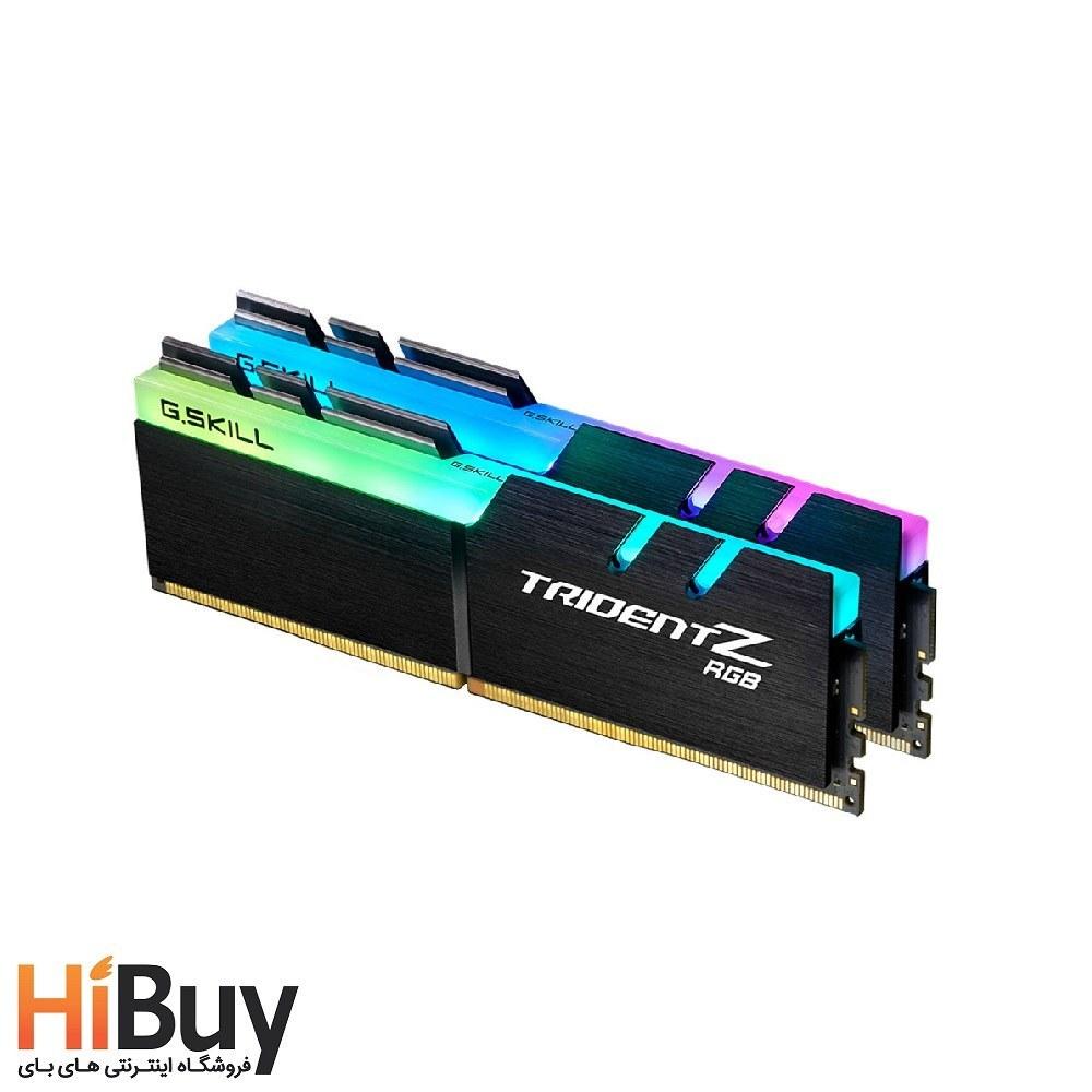 تصویر رم دسکتاپ DDR4 دو کاناله 4000 مگاهرتز CL18 جی اسکیل مدل TRIDENTZ RGB ظرفیت 64 گیگابایت ا G.SKIL TRIDENTZ RGB DDR4 CL18 64GB G.SKIL TRIDENTZ RGB DDR4 CL18 64GB