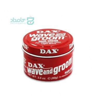 تصویر واکس موی داکس مدل WAVE AND GROOM حجم ۹۹ گرم