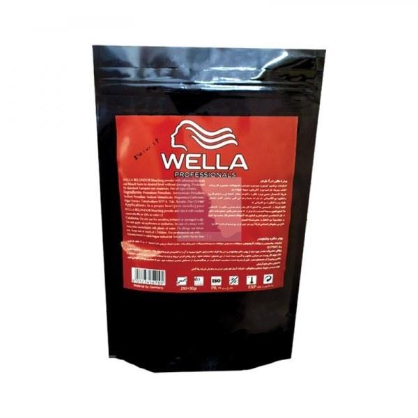 عکس پودر دکلره مو ولا Wella وزن 250 گرم  پودر-دکلره-مو-ولا-wella-وزن-250-گرم