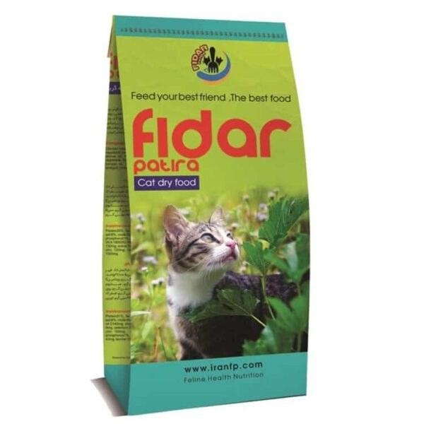 تصویر غذای خشک فیدار Fidar مخصوص گربه بالغ 10 Kg