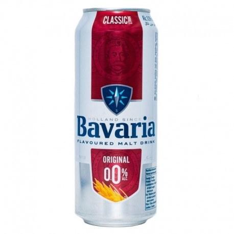 تصویر نوشیدنی مالت بدون الکل 500 میلی لیتر باواریا با طعم ساده (Bavaria)