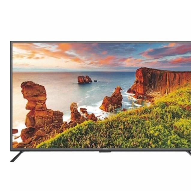 تصویر تلویزیون 4K هوشمند آیوا مدل JUSSTS180S سایز 55 اینچ TV Aiwa 55 4K Ultra HD JU55TS180S
