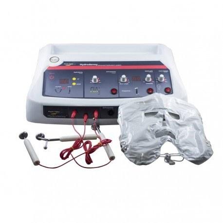 تصویر دستگاه هیدرودرمی 9 کاره دیجیتالی هاینس با ماسک حرارتیHI-NESS Digital Hydrodermy