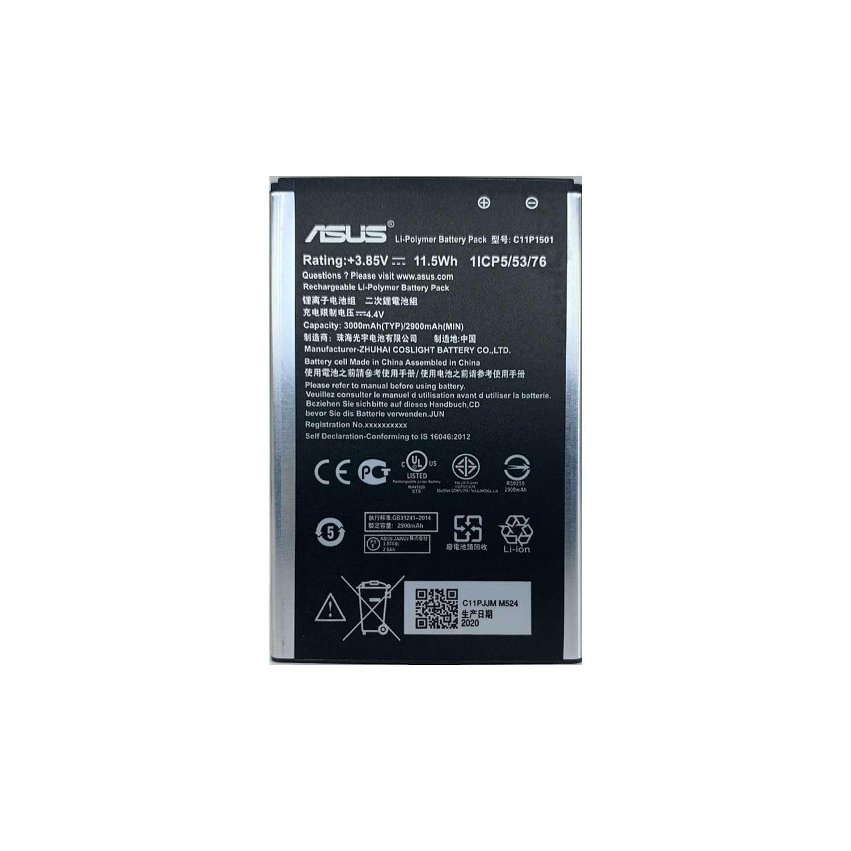 تصویر باتری گوشی ایسوس ASUS ZENFONE 2 LASER ZE601KL با کد فنی C11P1501