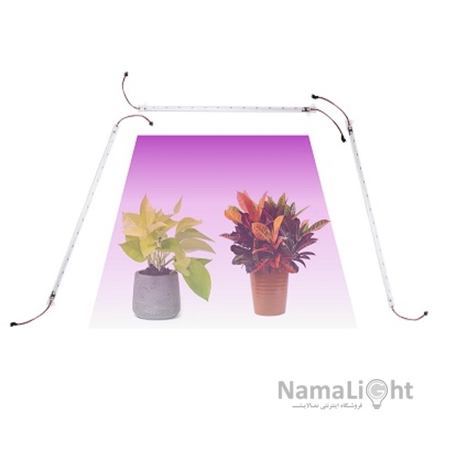 تصویر چراغ رشد گیاه (ریسه 1 متری)