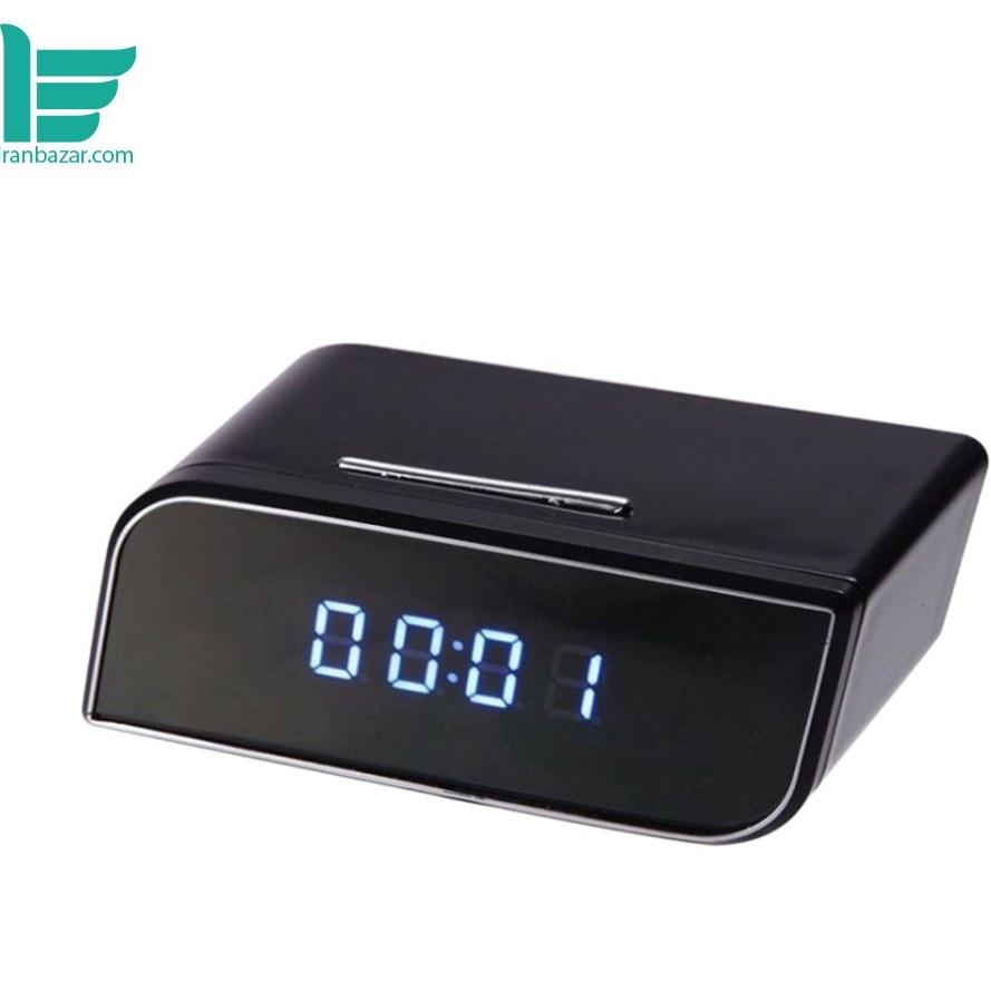 ساعت دیجیتال رومیزی مجهز به وای فای دوربین دارP2P مارگون - Daretang P2P HD Wi-Fi Clock Camera with Motion Detection and Night Vision |