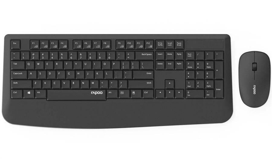 main images کیبورد و ماوس بی سیم رپو مدل X1900 کیبورد و ماوس رپو X1900 Wireless Keyboard and Mouse
