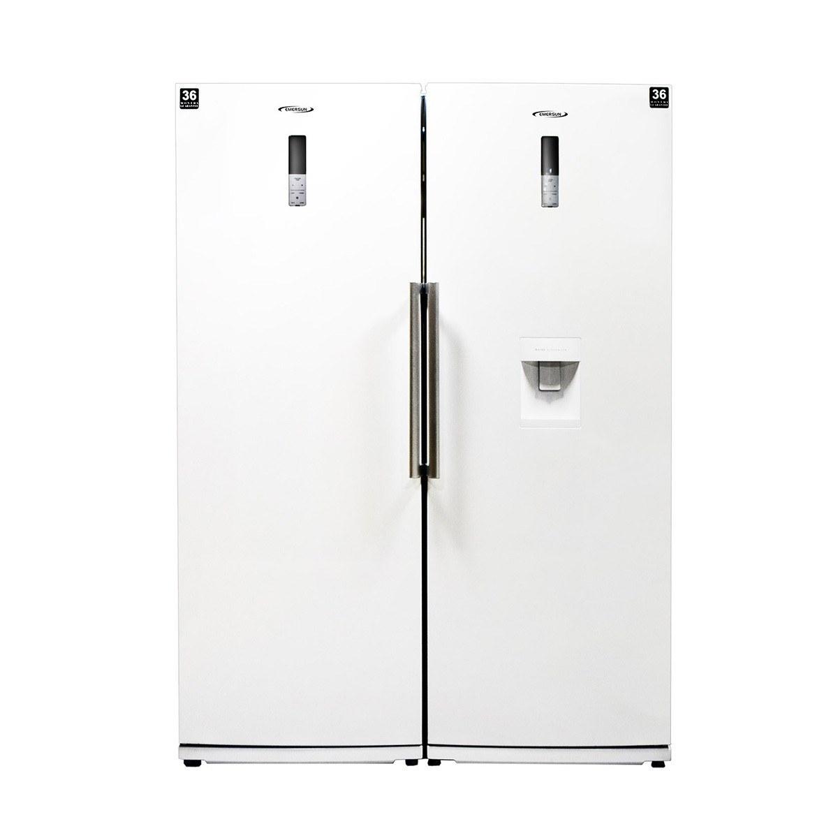 تصویر یخچال فریزر دوقلو امرسان مدل دیاموند (RH20D - FN20D) Emersun DIAMOND Refrigerator