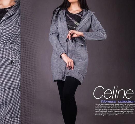 مانتو زنانه مدل Celin |