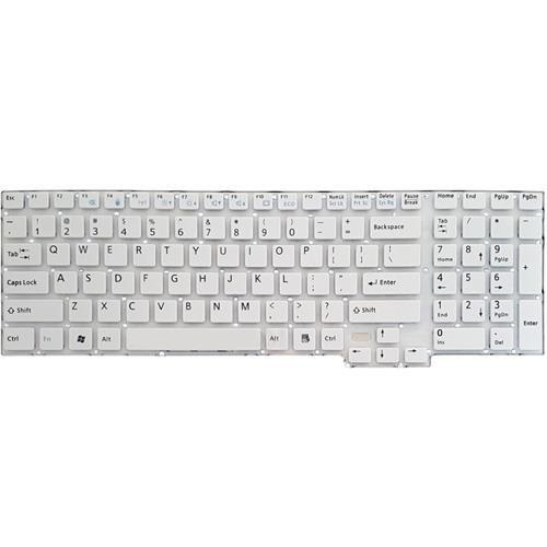 کیبرد لپ تاپ فوجیتسو Lifebook AH532 سفید-اینترکوچک بدون فریم