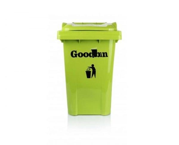 تصویر مخزن زباله ۴۰ لیتری ساده هوم کت مدل goodbin