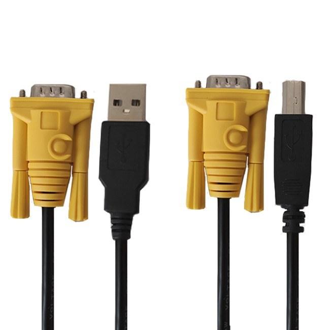 تصویر کابل KVM USB دی-نت مدل 062 طول 1.5 متر