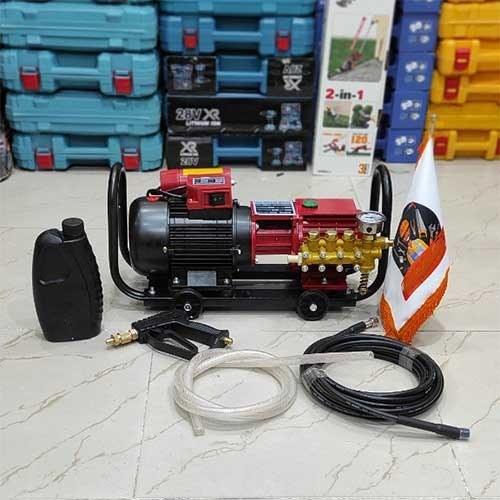 تصویر کارواش صنعتی سینگل مدل YL100L Single industrial car wash YL100L