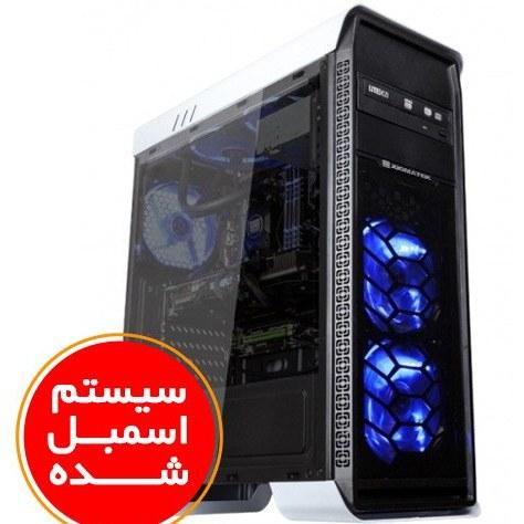 تصویر سیستم اسمبل شده ایسوس مدل A8 Super Gaming با پلتفرم اینتل گرافیک 6 گیگابایت PC A8 Super Gaming ASUS i9(9900K) 16GB(4000) RAM 512GB SSD