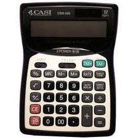 تصویر ماشین حساب کاسی مدل سی اس ان ۳۲۶ CASI CSN-326 Calculator