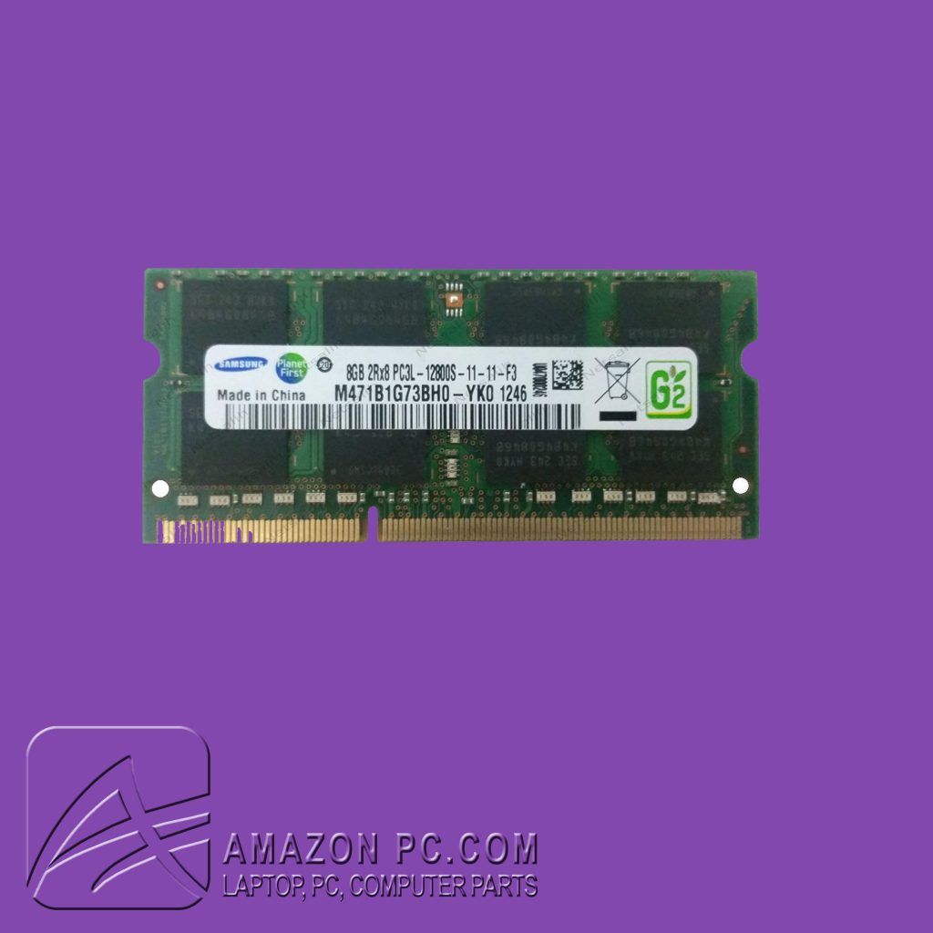 تصویر رم لپ تاپ سامسونگ 4GB DDR3 1066 ا Samsung Laptop RAM Samsung Laptop RAM