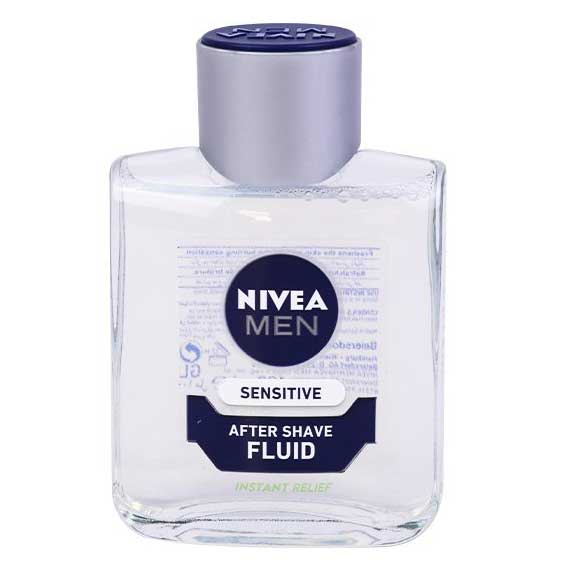 افتر شیو نیوآ sensitive fluid حجم 100ml