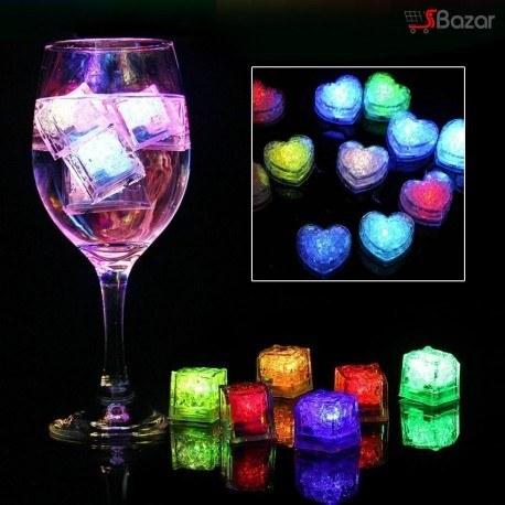 تصویر یخ LED هوشمند طرح قلب