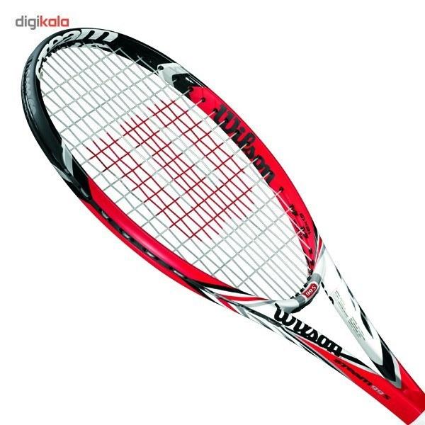 تصویر راکت تنيس ويلسون مدل Steam 99S ا Wilson Steam 99S Tennis Racket Wilson Steam 99S Tennis Racket