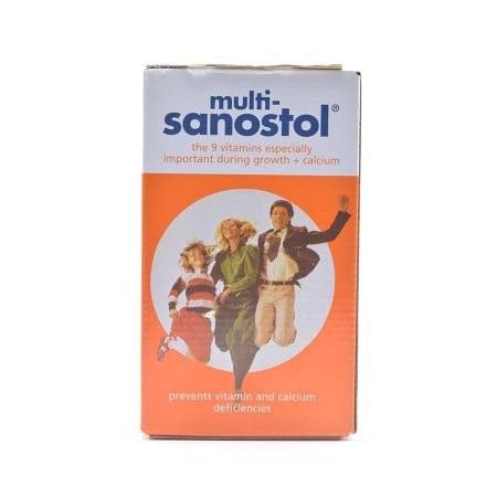 شربت مولتی ویتامین سانستول (۲۰۰ گرمی) |
