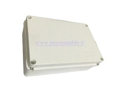 تصویر جعبه تقسیم برق (درب پیچ خور) پلاستیکی 12*30*20