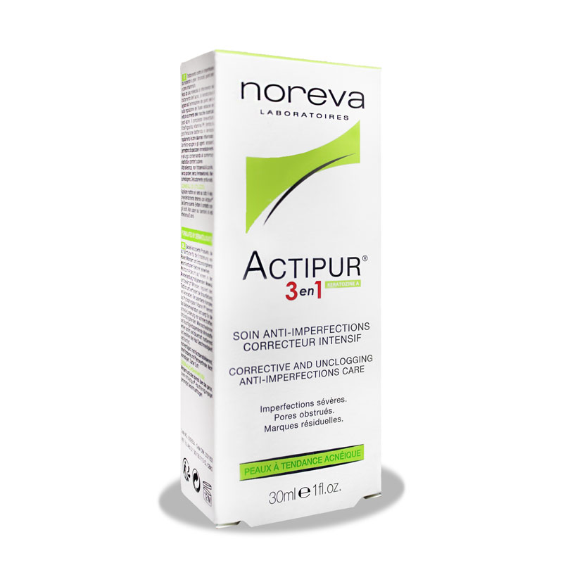 کرم ضدجوش نوروا اکتی پور Noreva Actipur 3in1 Anti-Acne
