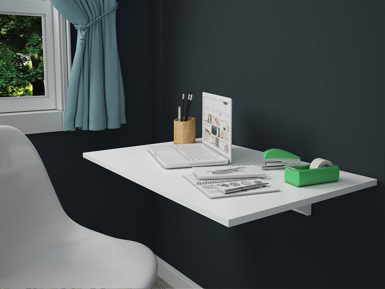 عکس میز تحریر تاشو دیواری مدل MT 140  میز-تحریر-تاشو-دیواری-مدل-mt-140