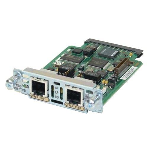 تصویر ماژول شبکه سیسکو مدل VWIC2-2MFT-T1-E1 Cisco VWIC2-2MFT-T1-E1 Network Module