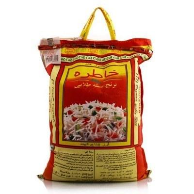 تصویر برنج هندی باسماتی خاطره کیسه 10 کیلویی