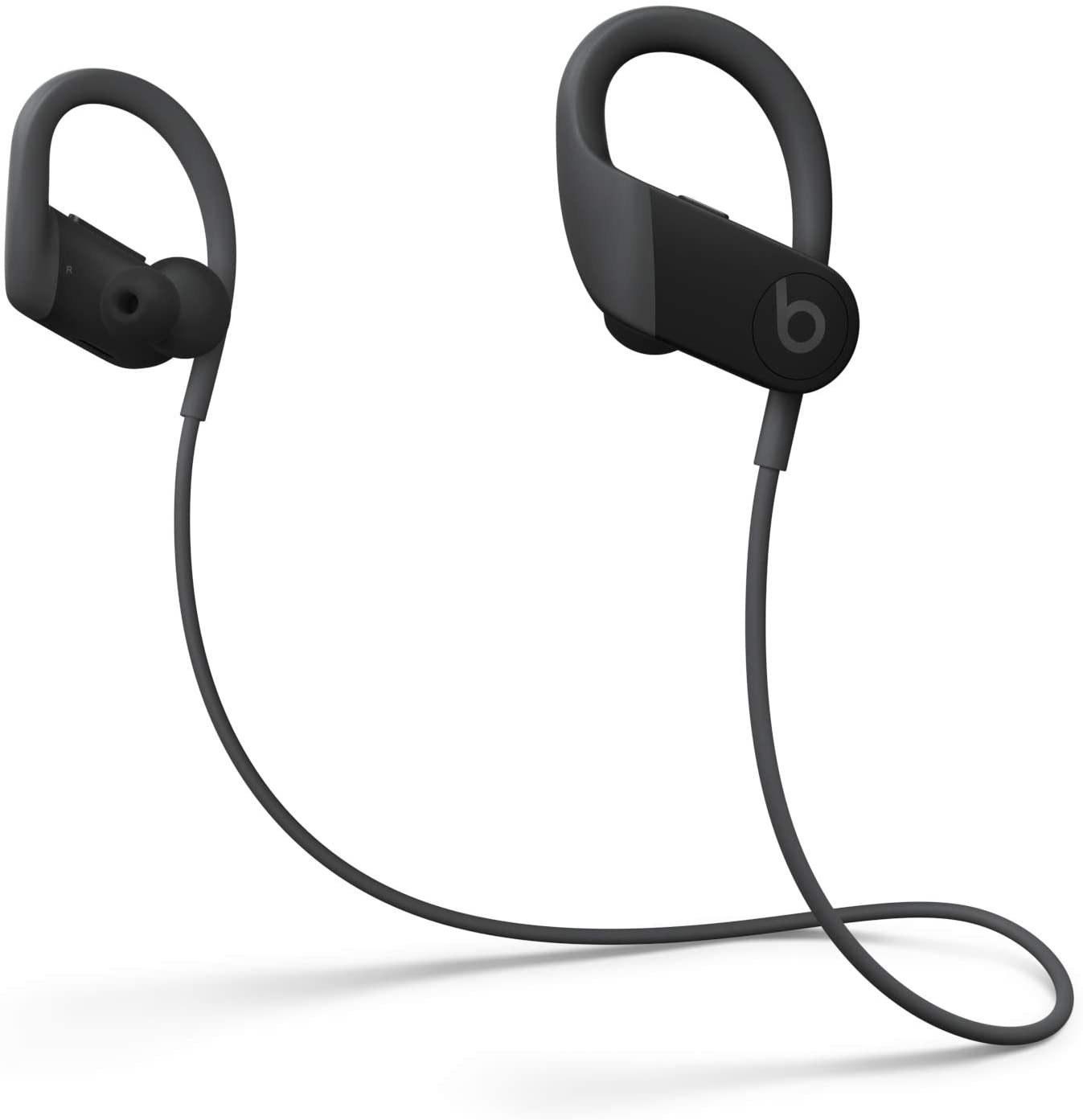 عکس هدفون بی سیم مدل Powerbeats Powerbeats High-Performance Wireless Earphones - Apple H1 Headphone Chip, Class 1 Bluetooth, 15 Hours Of Listening Time, Sweat Resistant Earbuds - Black (Latest Model) هدفون-بی-سیم-مدل-powerbeats