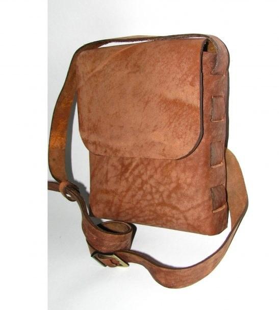 کیف پیاده روی چرم شتر