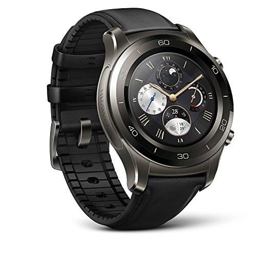 تصویر ساعت هوشمند Huawei Watch 2 Classic Classic - سرامیک بیز- بند چرمی قهوه ای (ضمانت آمریکا)