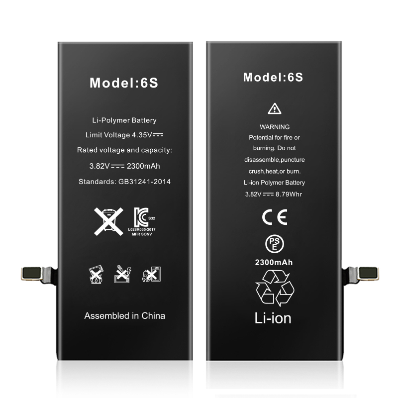 تصویر باتری گوشی موبایل آیفون مدل 6S