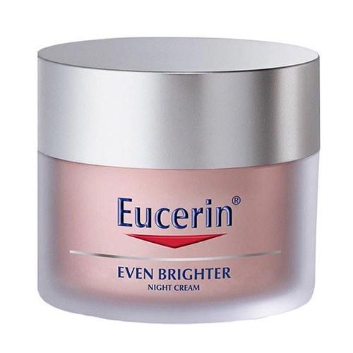 کرم روشن کننده و ضد لک شب اوسرین مدل Even Brighter حجم ۵۰ میلی لیتر   Eucerin Even Brighter Night Lightening Cream 50ml