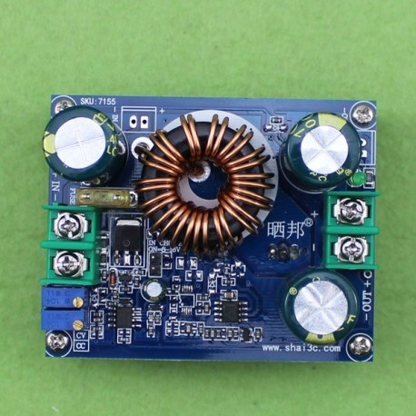 ماژول رگولاتور DC به DC افزاینده 600 وات با قابلیت تنظیم جریان خروجی