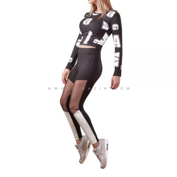 ست دو تیکه پیراهن شلوار زنانه ورزشی : کد ۵  