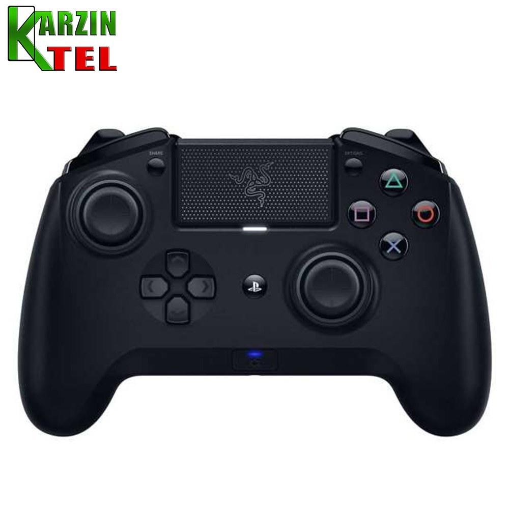 تصویر خرید کنترلر Razer Raiju Ultimate - مخصوص PS4 Razer Raiju Ultimate Wireless and Wired Gaming Controller - PS4