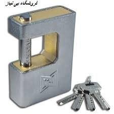 قفل کتابی فولادی گیرا مدل 040