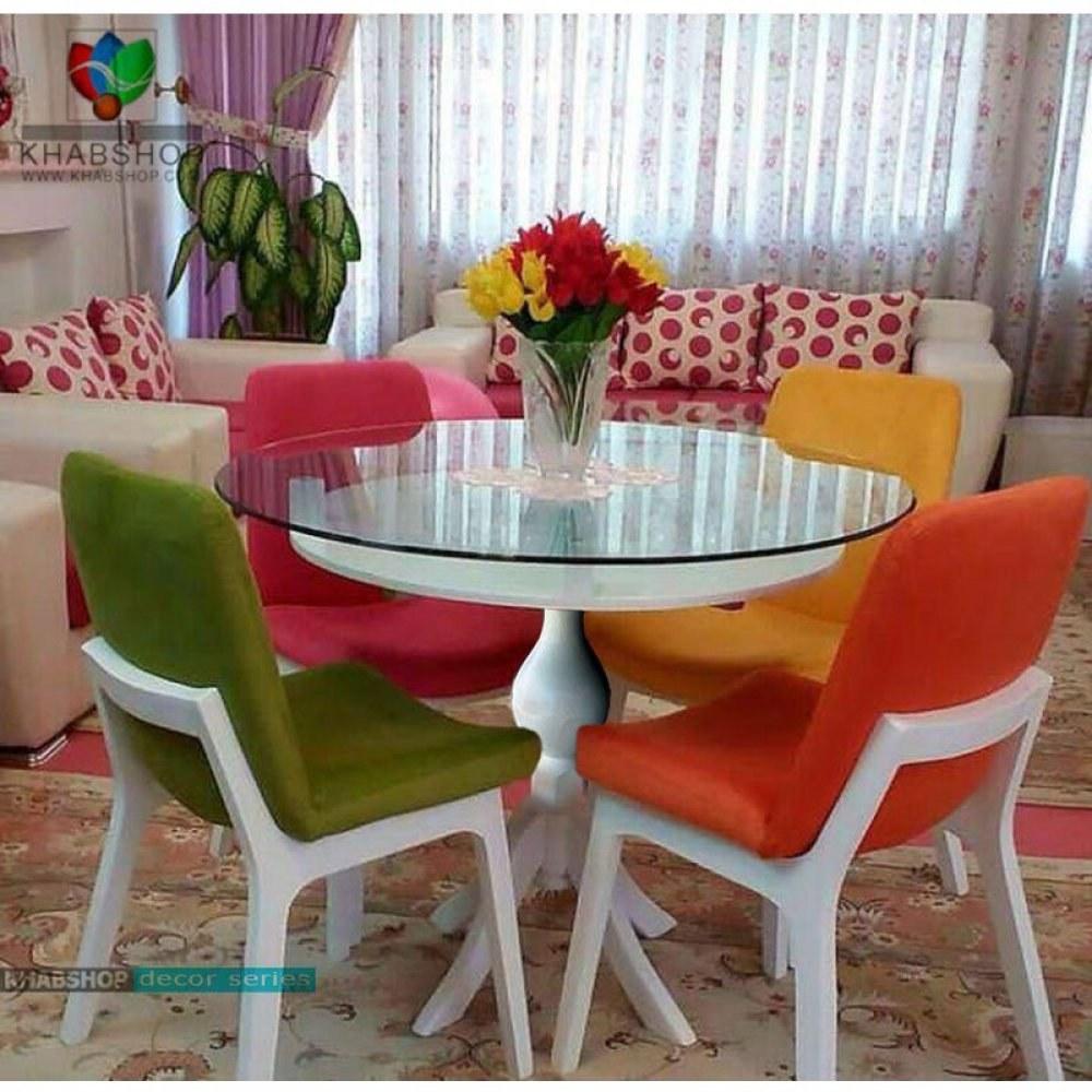 عکس میز ناهار خوری 4نفره با صندلی کد T137B  میز-ناهار-خوری-4نفره-با-صندلی-کد-t137b